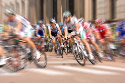 Cicliste al tour